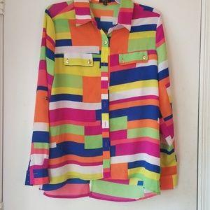 Cupio Multicolored Longsleeve Shirt